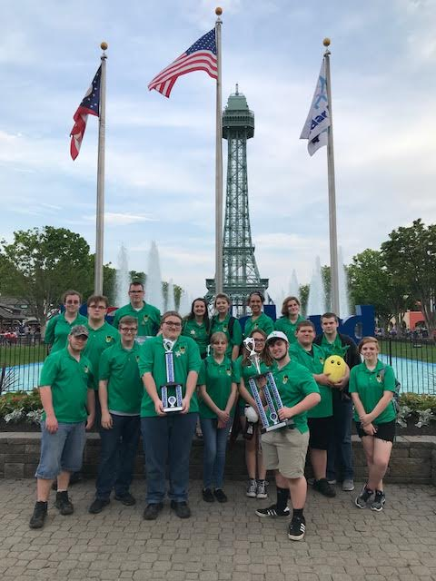 Band at Kings Island 2018