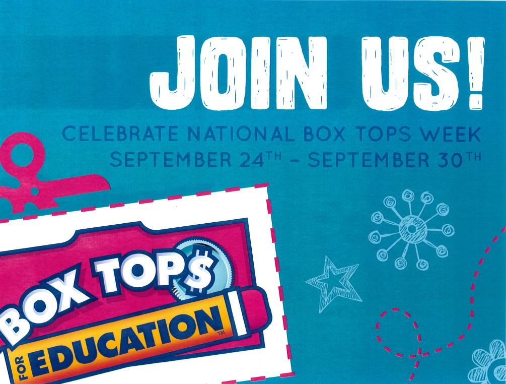 Box Tops for Education Week