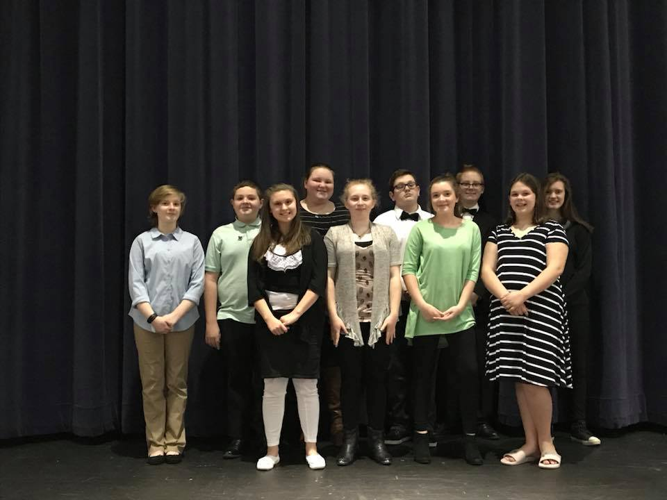 MS OMEA Solo and Ensemble Participants