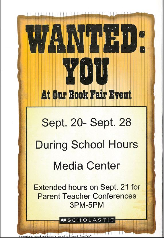 Scholastic Book Fair 2017