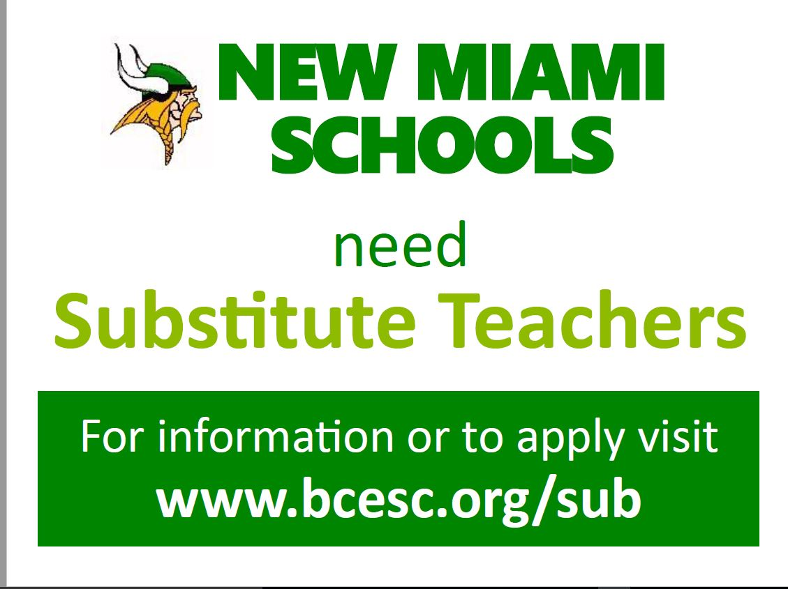 Sub Teachers Needed
