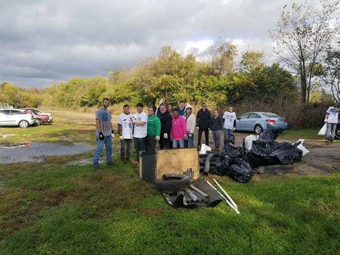 River Clean Up - Veterans Park