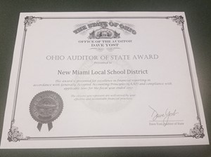 Auditor of State Award 2017